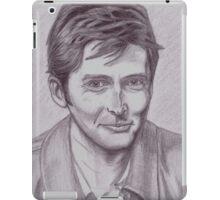 David Tennant  tenth Doctor iPad Case/Skin