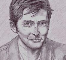 David Tennant  tenth Doctor by Brian Heath