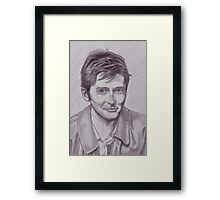 David Tennant  tenth Doctor Framed Print