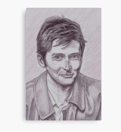 David Tennant  tenth Doctor Canvas Print