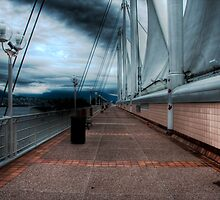 Rough Skies Over Vancouver by Jamie Lamb