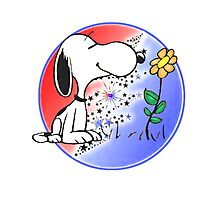 Snoopy Stealie Photographic Print
