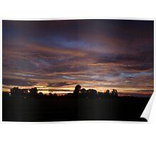 Crossville Sundown Poster