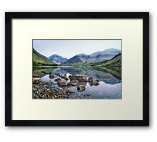 And There Was Peace... Framed Print