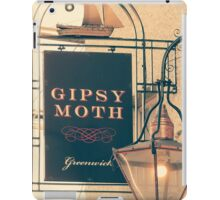 The Iconic Gipsy Moth, Greenwich iPad Case/Skin