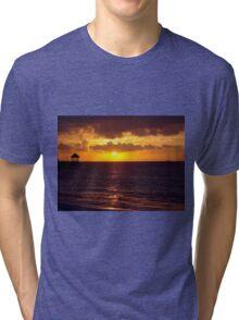 Sunset in Jamaica Tri-blend T-Shirt