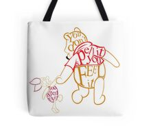 Winnie the Pooh and Piglet  Tote Bag