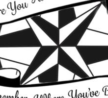 Compass w/ Lyrics Sticker