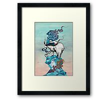 Seeking New Heights Framed Print