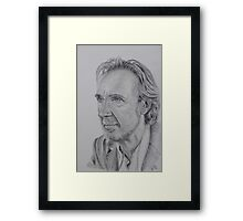 Mike Rutherford of Genesis and Mike and the Mechanics Framed Print