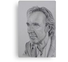 Mike Rutherford of Genesis and Mike and the Mechanics Canvas Print