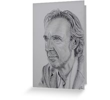 Mike Rutherford of Genesis and Mike and the Mechanics Greeting Card