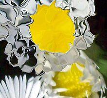 crazy mini daisy  by Michelle BarlondSmith
