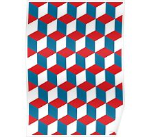 french pattern Poster