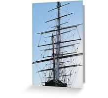 The Cutty Sark, Greenwich Greeting Card