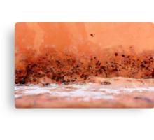 Desert Dusk by the Salt Lake Canvas Print