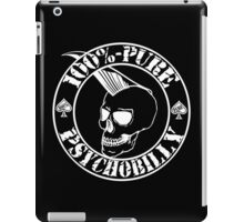 Pure Psychobilly - White Stamp iPad Case/Skin