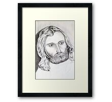 Phil Collins Genesis and solo musician Framed Print