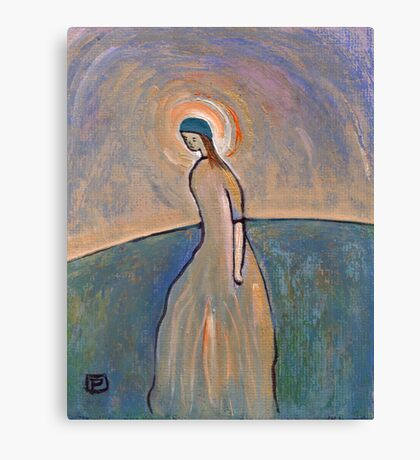 A saintly woman Canvas Print