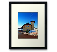 The firestation of Schoenegg II | architectural photography Framed Print