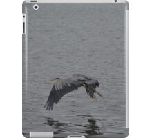 Blue Heron 3 iPad Case/Skin
