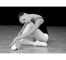 ballerina rests Photographic Print