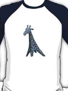 Blue Giraffe T-Shirt