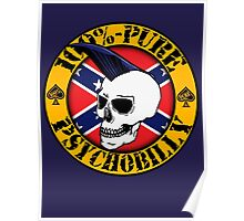 Pure Psychobilly - Flag Poster