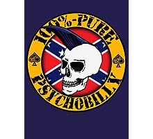 Pure Psychobilly - Flag Photographic Print