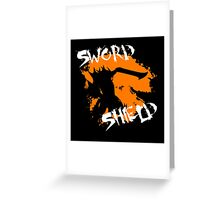MH4U Sword & Shield (CLASS SERIES) Greeting Card