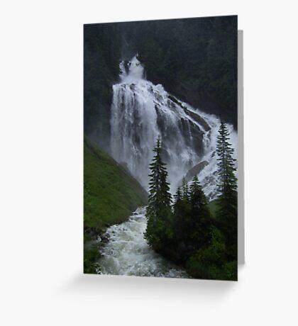 Canada Waterfall Greeting Card