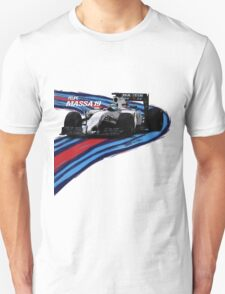 Williams Martini Racing Felipe19 Unisex T-Shirt