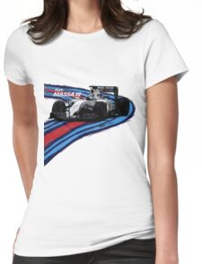 Williams Martini Racing Felipe19 Womens Fitted T-Shirt