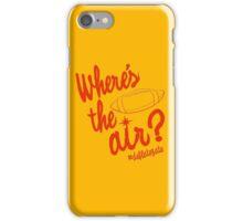 Where's the Air? - Deflate Gate iPhone Case/Skin