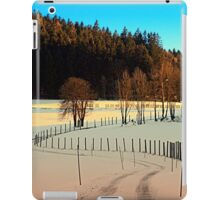Hiking on a winter afternoon | landscape photography iPad Case/Skin