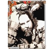 The Dude and his rug iPad Case/Skin