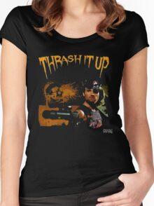 Thrash Snake Women's Fitted Scoop T-Shirt