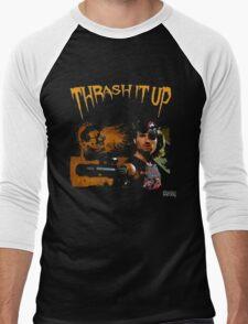 Thrash Snake Men's Baseball ¾ T-Shirt