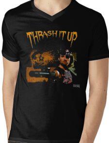 Thrash Snake Mens V-Neck T-Shirt