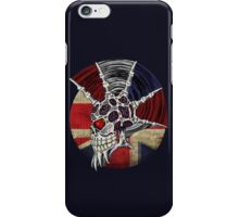 Punk Skull - Union Jack BG iPhone Case/Skin