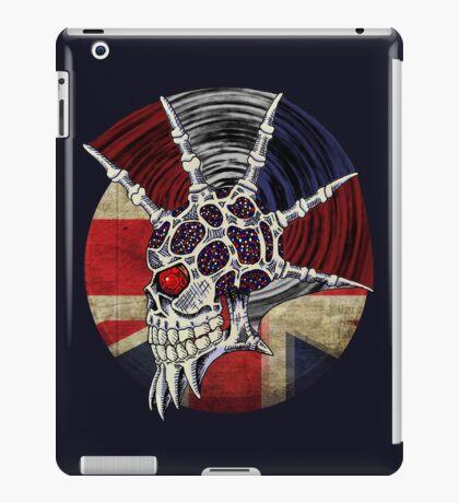 Punk Skull - Union Jack BG iPad Case/Skin