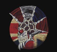 Punk Skull - Union Jack BG One Piece - Long Sleeve