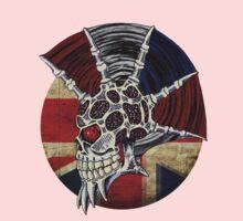 Punk Skull - Union Jack BG Kids Tee