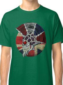 Punk Skull - Union Jack BG Classic T-Shirt