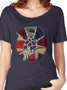 Punk Skull - Union Jack BG Women's Relaxed Fit T-Shirt
