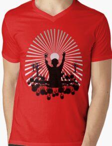 DJ SUNRISE SET Mens V-Neck T-Shirt