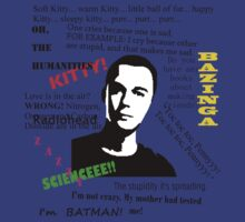 Sheldon Cooper, The Big Bang Theory. by Scama