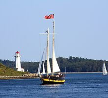 Under Sail by HALIFAXPHOTO