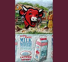 "Exclusive:"" La Vache qui rit "" ""The Laughing Cow"" / My Creations Artistic Sculpture Relief fact Main 22  (c)(h) by Olao-Olavia / Okaio Créations Unisex T-Shirt"
