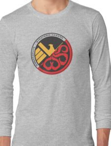 S.H.I.E.L.D. vs Hydra Long Sleeve T-Shirt